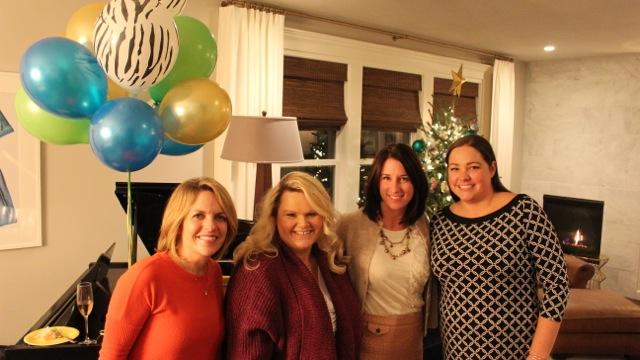 Jessica, Kim, me, and Rachel. Your Noble Designs team!