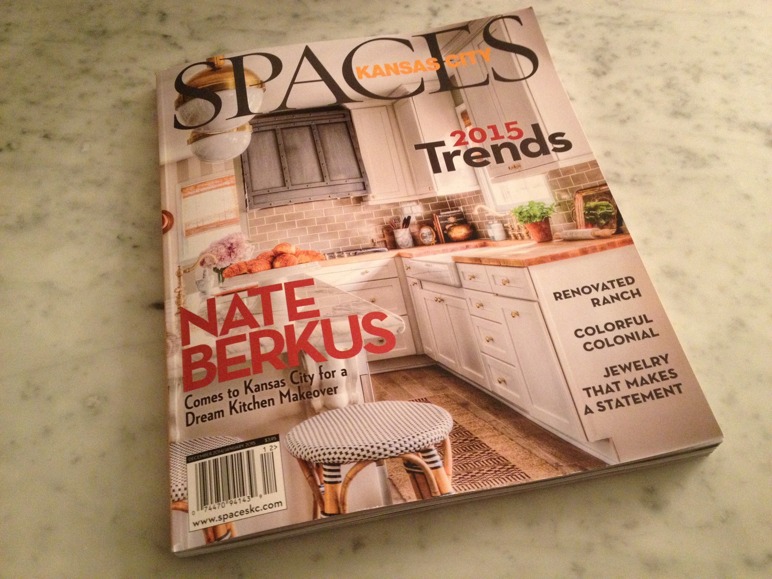 I'm the Colorful Colonial! I'm featured in Spaces!