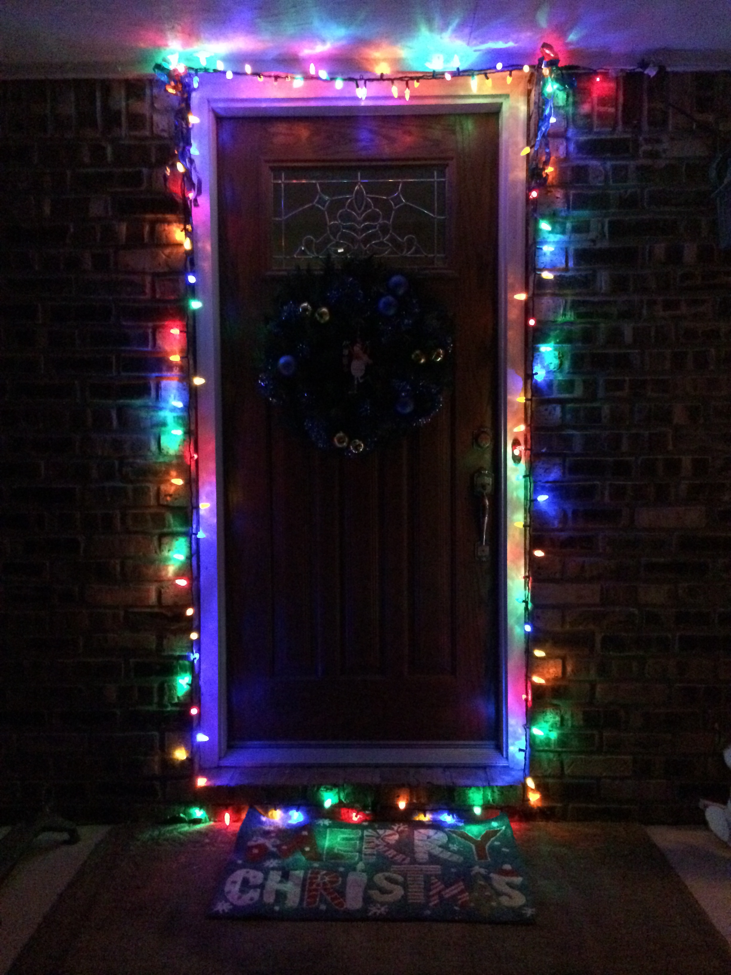 A front door in Michigan.