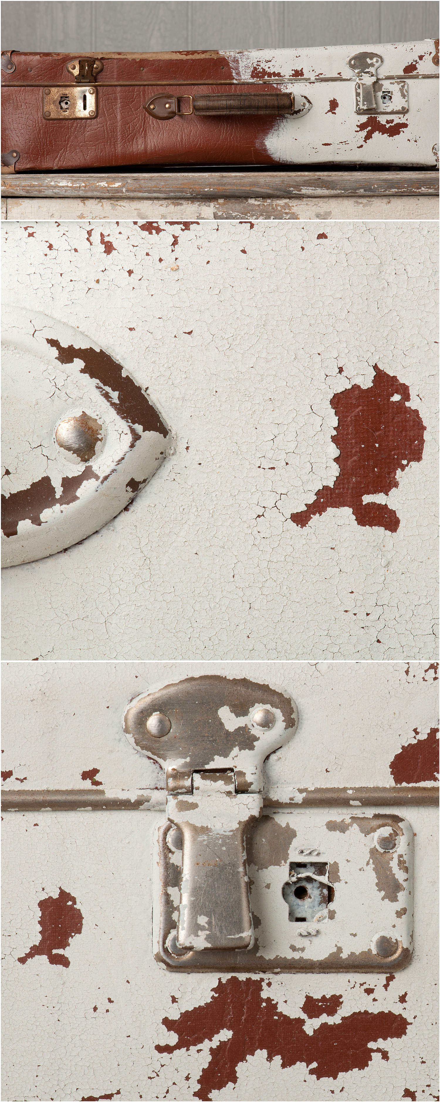 Milk paint tutorial from My Painted Door (.com) - painting on leather
