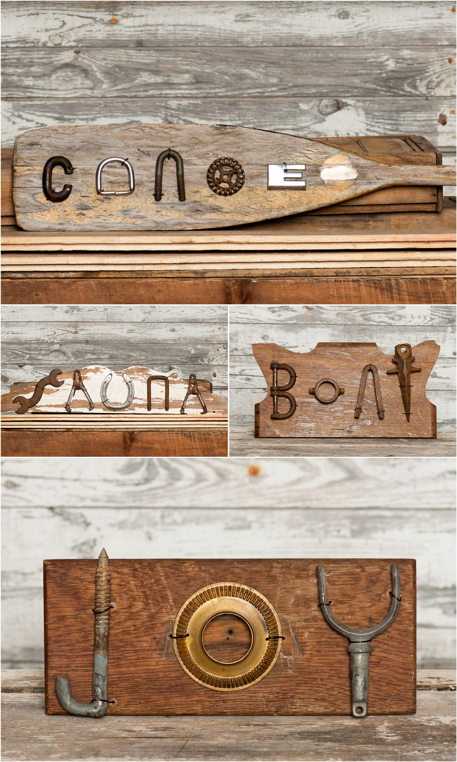 Repurposed, reused and upcycled signs - My Painted Door (.com)