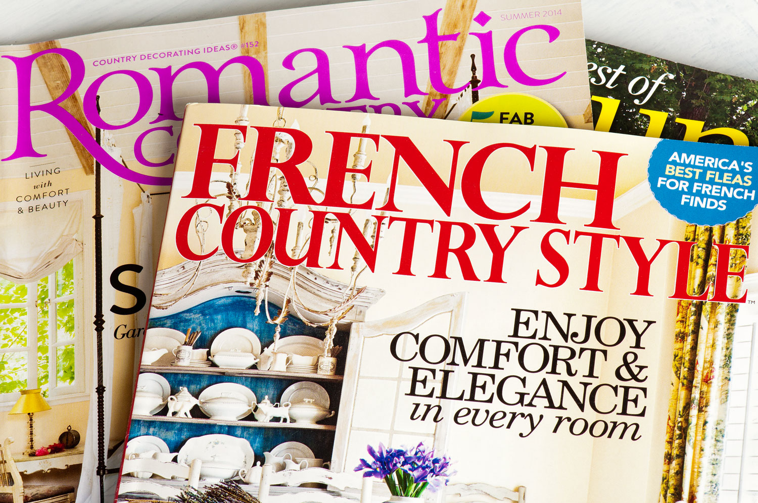 Creating a french country look with milk paint - Via My Painted Door (.com)