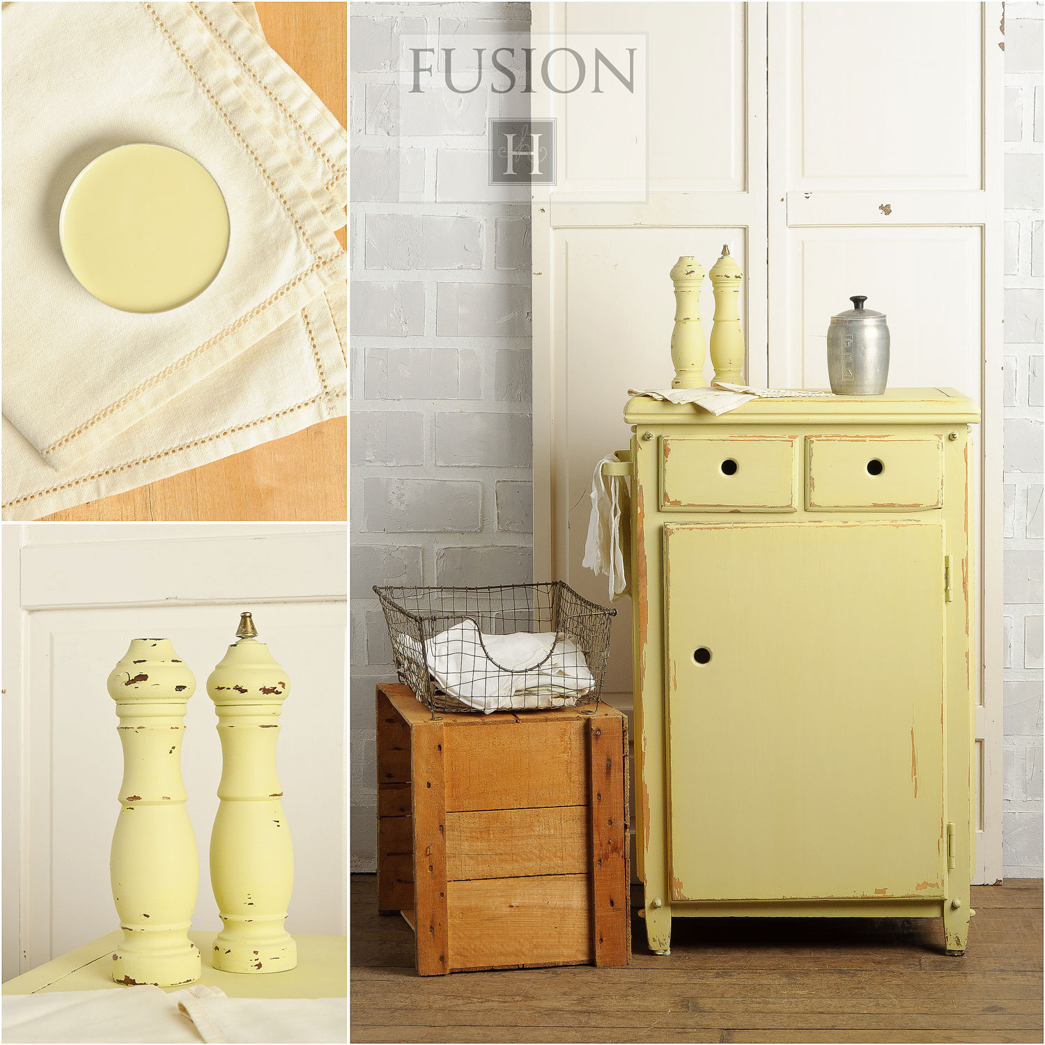 Fusion paint in aubusson - via My Painted Door (.com)