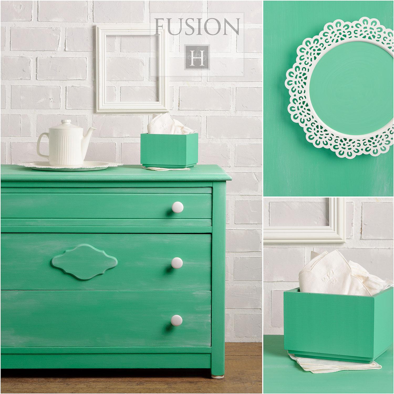 Fusion paint in ceramic - via My Painted Door (.com)