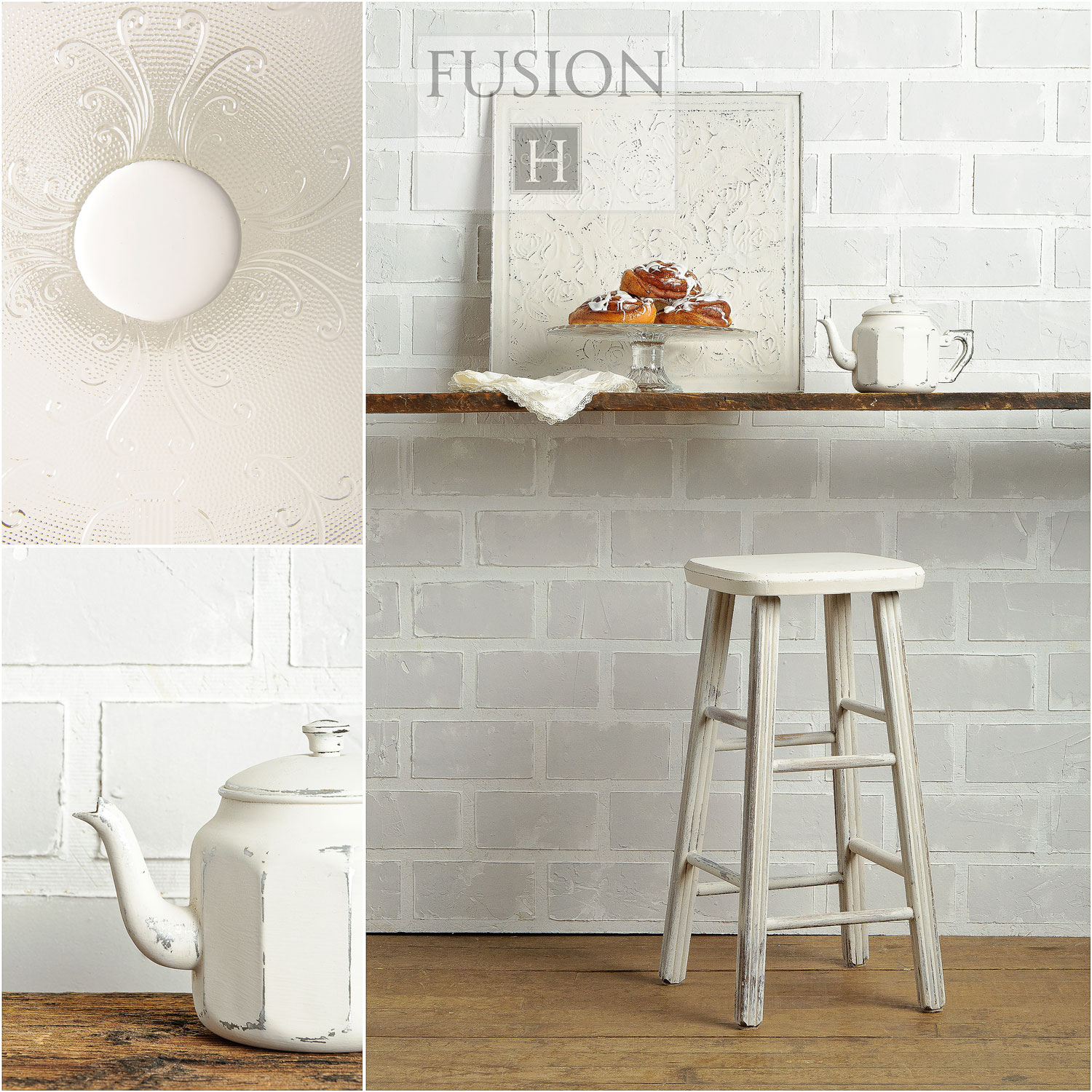 Fusion paint in champlain - via My Painted Door (.com)