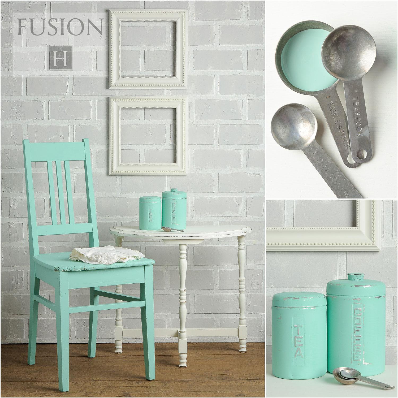 Fusion paint in laurentien - via My Painted Door (.com)