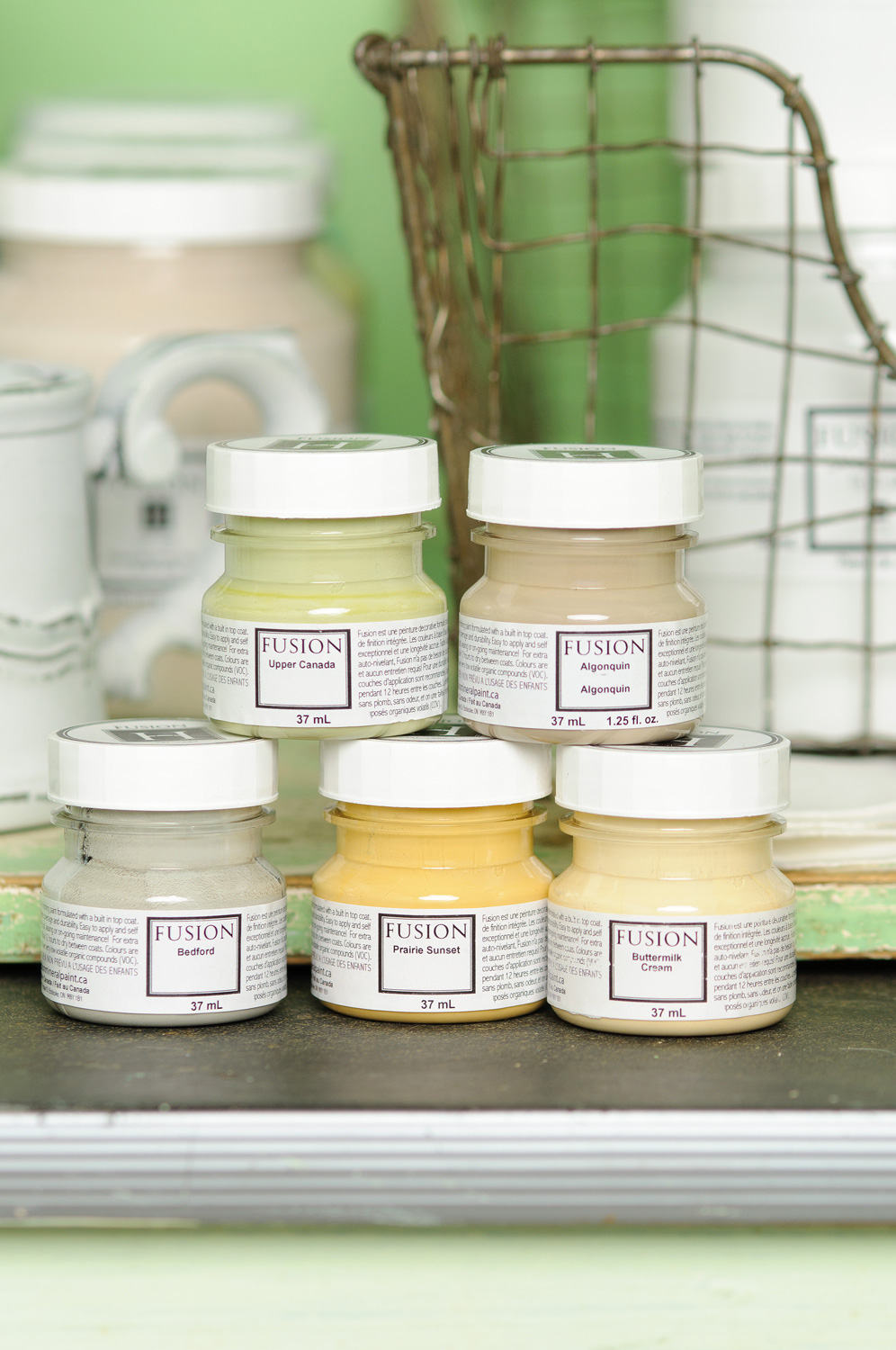 Fusion mineral paint available on-line at My Painted Door (.com)