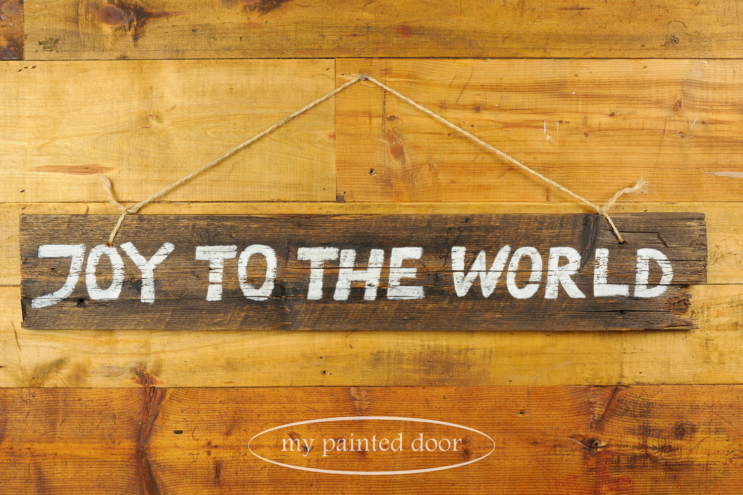 Handpainted signs with milk paint and Fusion mineral paint - via My Painted Door (.com)