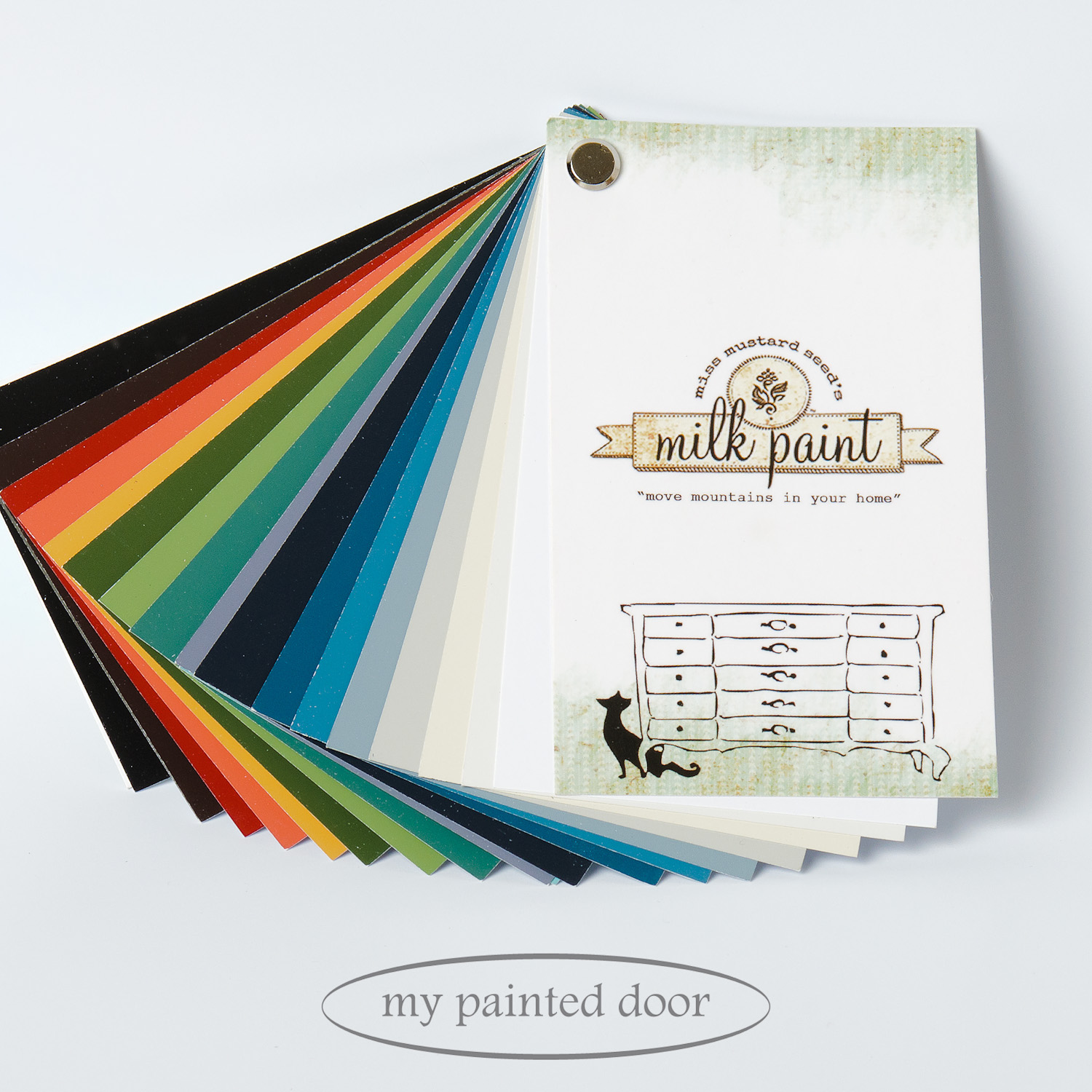 Miss Mustard Seed's colour fan deck - available at My Painted Door (.com)