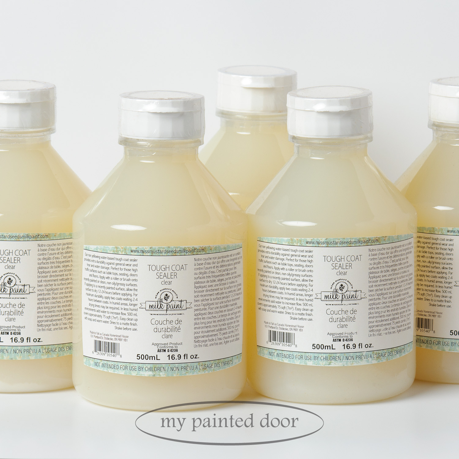 Miss Mustard Seed's tough coat sealer - available at My Painted Door (.com)