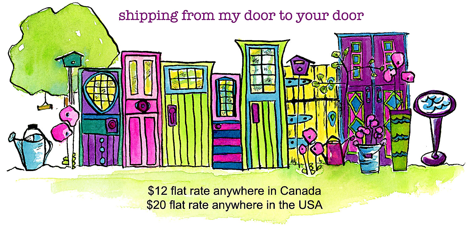 Shipping fees - My Painted Door (.com)