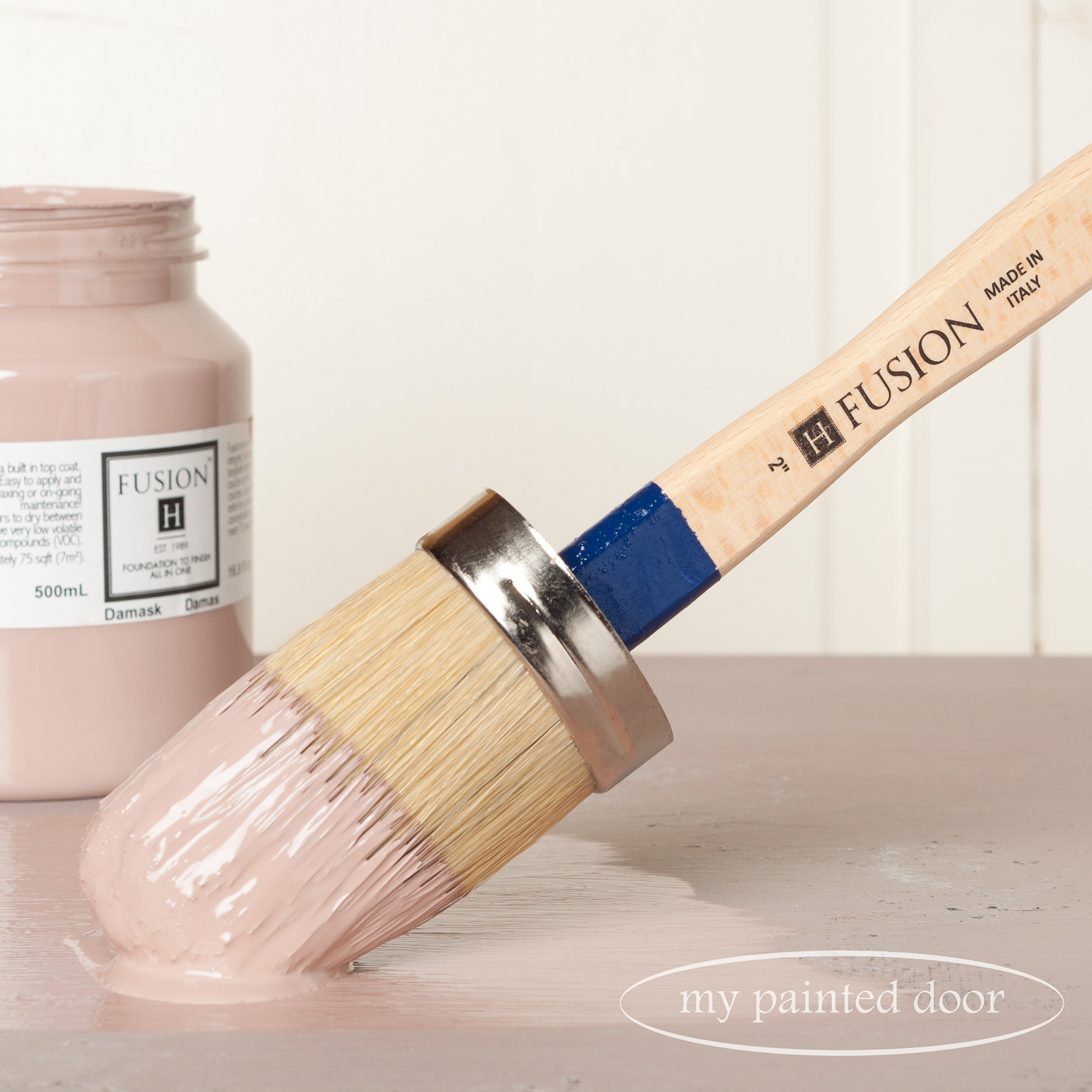 Fusion paint brushes now available at My Painted Door (.com)