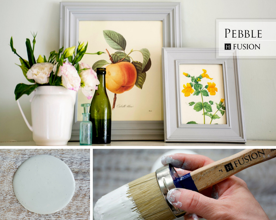 Fusion mineral paint in Pebble from the Penney & Co. Collection - available at My Painted Door (.com)