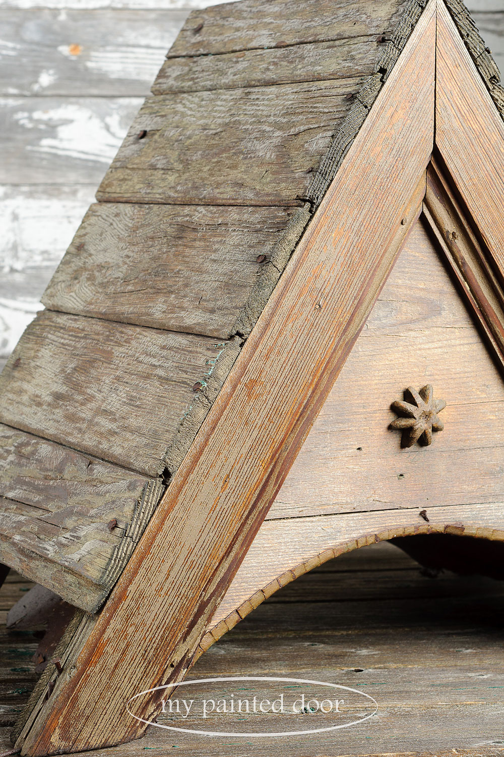 How to use Miss Mustard Seed's Hemp Oil to revive old wood, leather, metal and other surfaces.