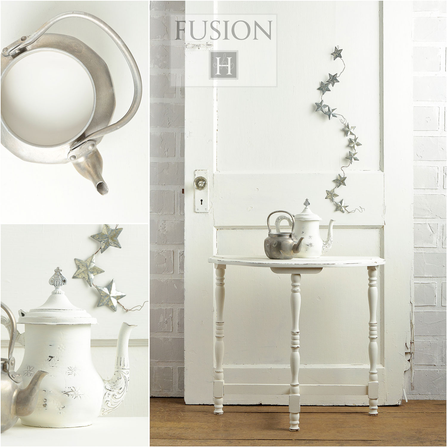 Fusion Mineral Paint in the colour Casement