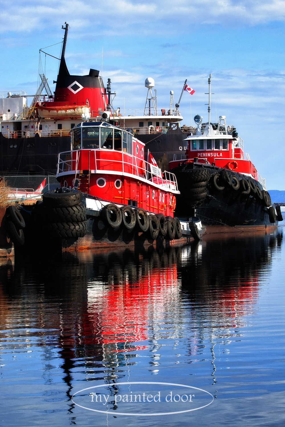 Tugboats on Lake Superior