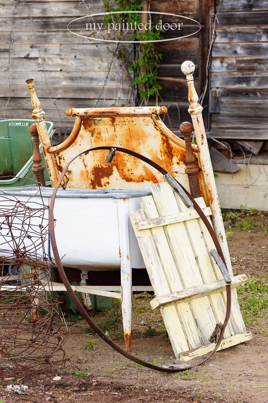rusty stuff for my garden