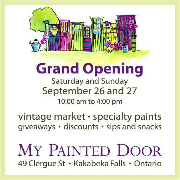 Grand Opening - My Painted Door