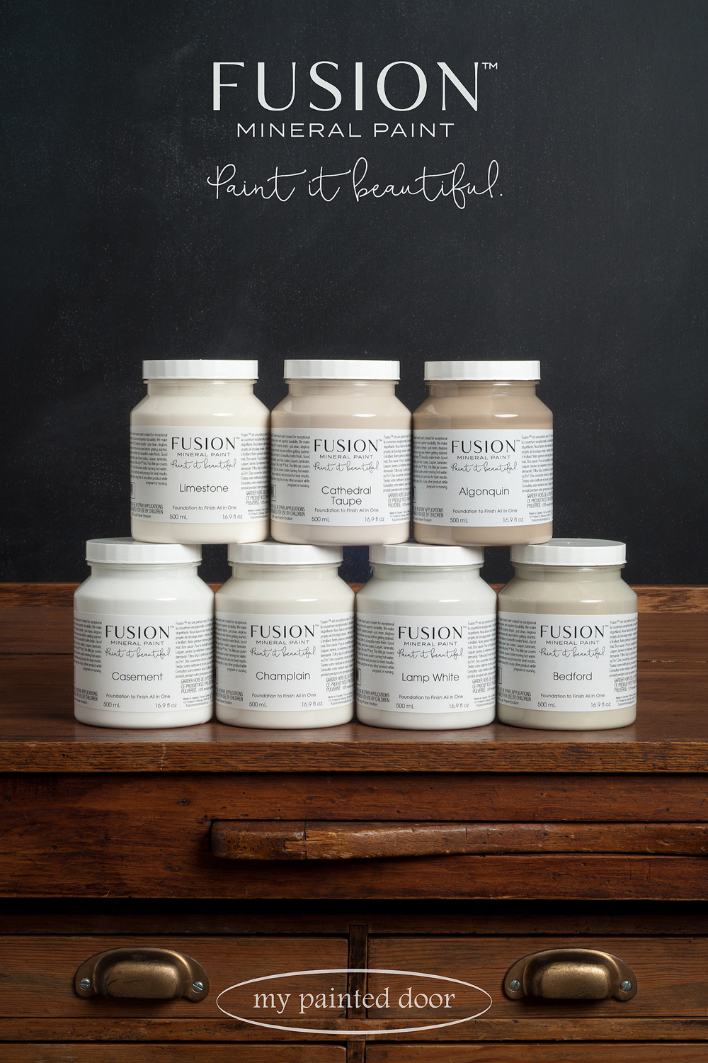 Fusion Mineral Paint - Paint it beautiful! Available at My Painted Door.