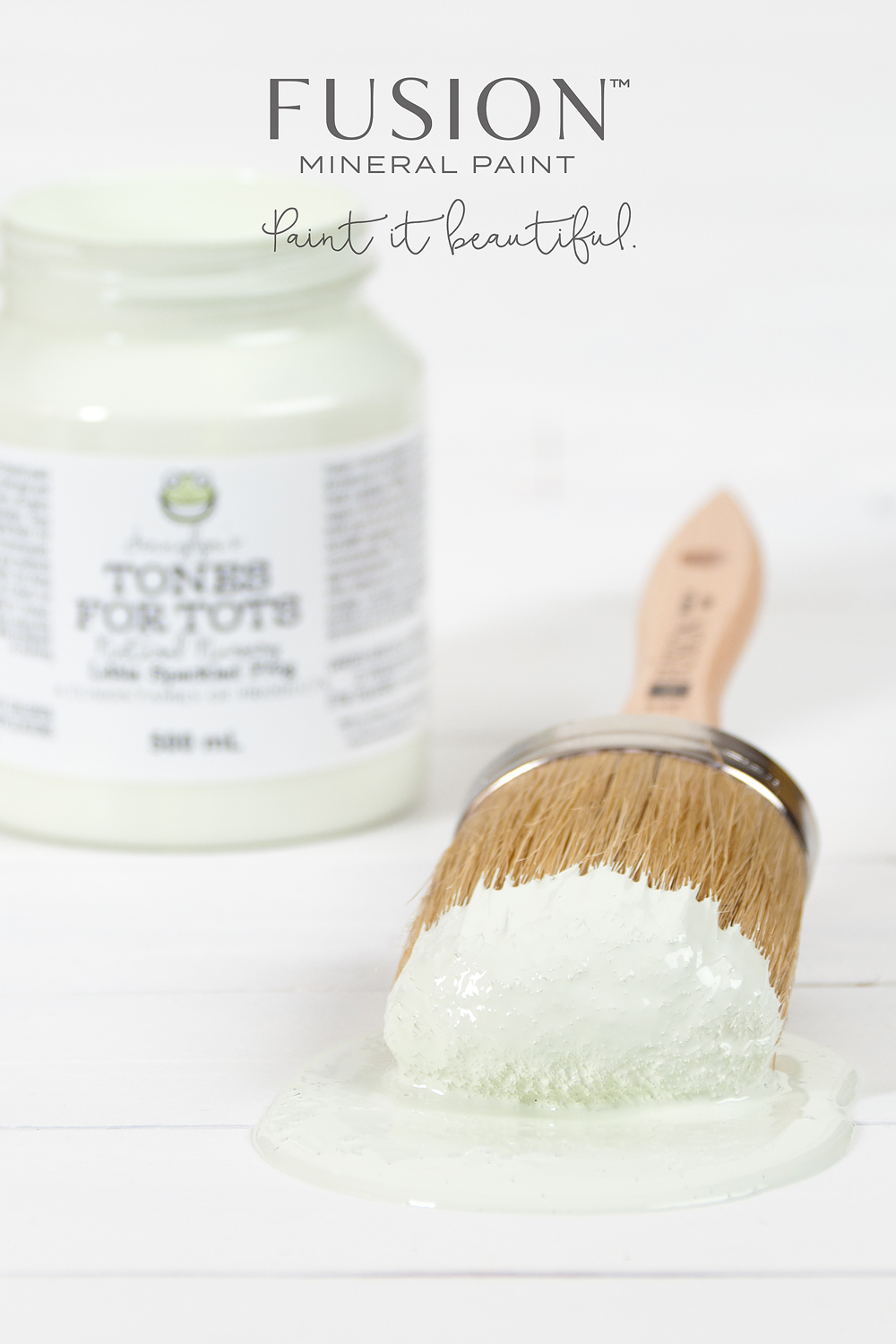 Jennylyn's Tones for Tots by Fusion Mineral Paint (Styling and photography:My Painted Door)