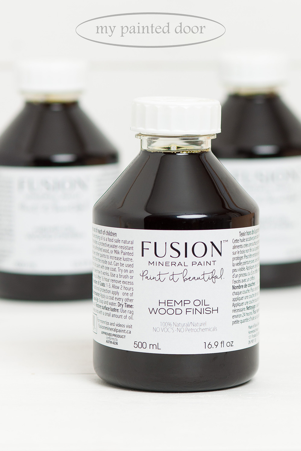 Fusion Mineral Paint Hemp Oil now available at My Painted Door.