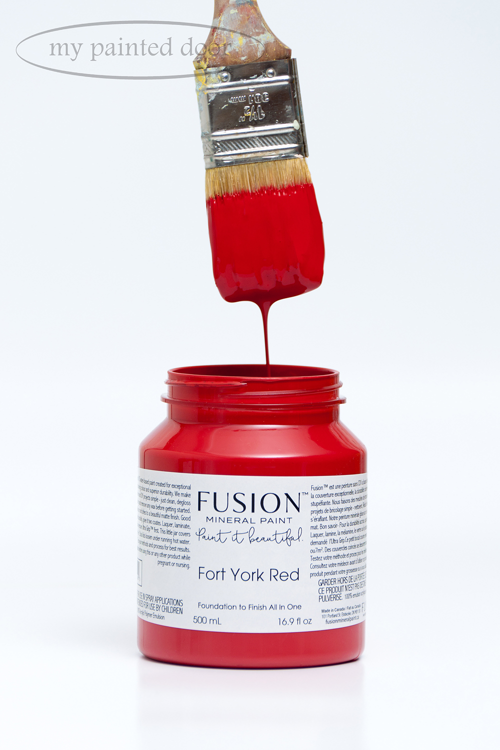 Fusion Mineral Paint available at My Painted Door.