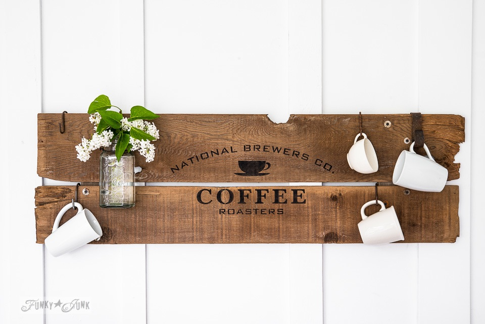 Old Sign Stencils by Funky Junk Interiors are now available at My Painted Door.