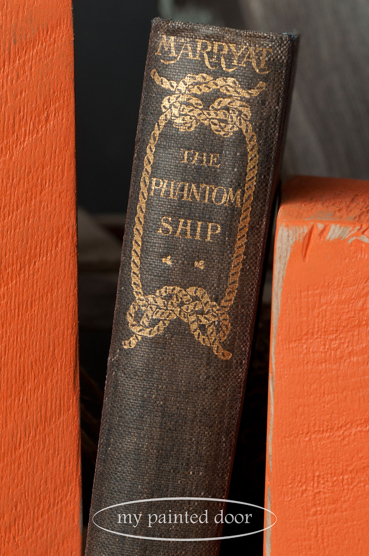 "Old book - ""The Phantom Ship"""