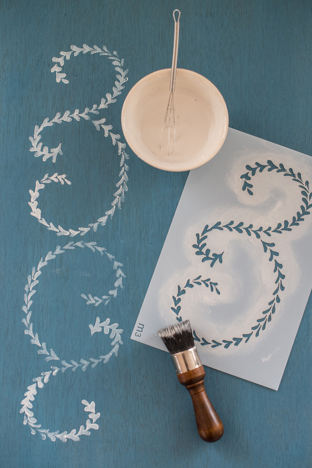 Elizabeth - Miss Mustard Seed's Milk Paint Stencil - available at My Painted Door