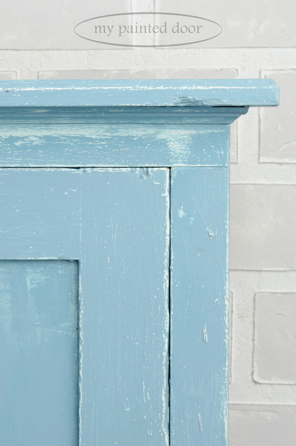 Hutch painted in Fusion Mineral Paint in the colour Champness
