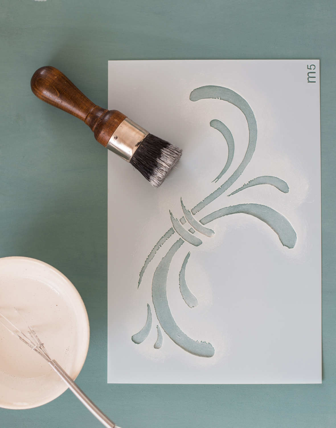 Susan - Miss Mustard Seed's Milk Paint Stencil - available at My Painted Door