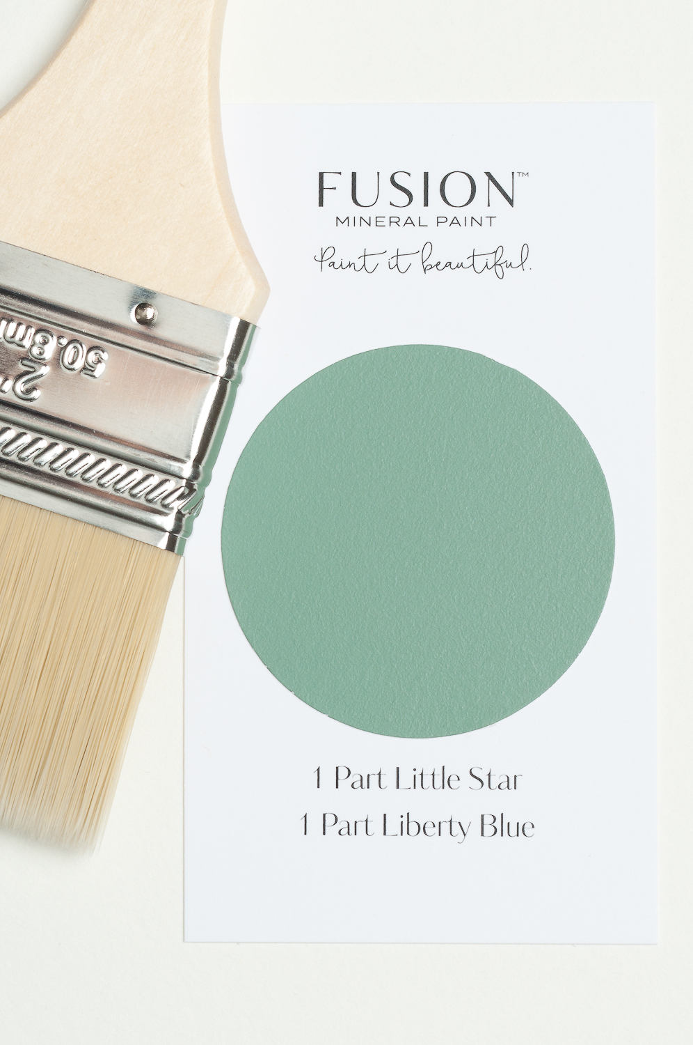 It's easy to mix Fusion Mineral Paint colours to create lovely shades like this.