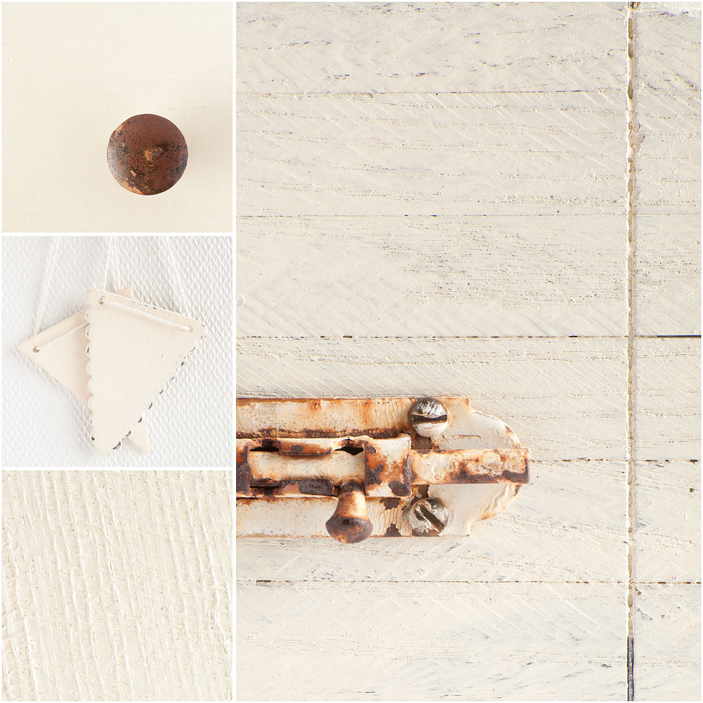 Linen is the cream in our line.  Named for linen fabrics that have slightly yellowed with age, this colour has warm undertones and is a nice, creamy white.  Mix Linen with colours to make the colour lighter and warmer.  Linen mixes and pairs beautifully with Apron Strings and Kitchen Scale.