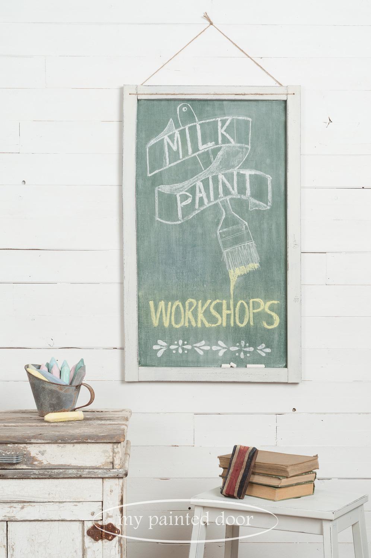 Miss Mustard Seed's Milk Paint Workshops