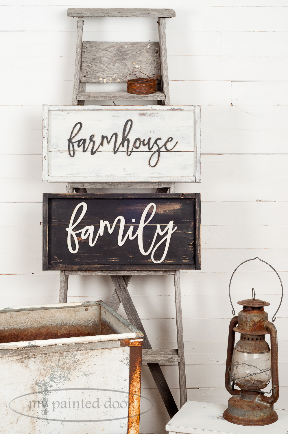 Farmhouse style sign workshops in Kakabeka Falls and Hurkett