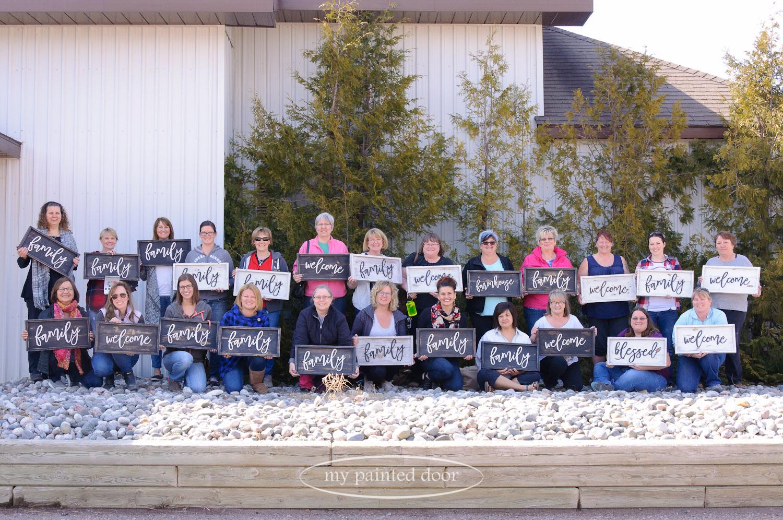 Miss Mustard Seed's Milk Paint Workshop in Hurkett, Ontario