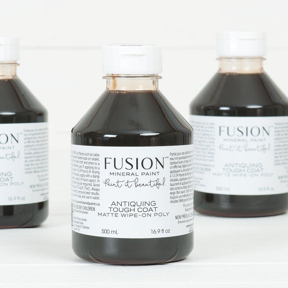 Half price sale - Fusion Mineral Paint Antiquing Tough Coat