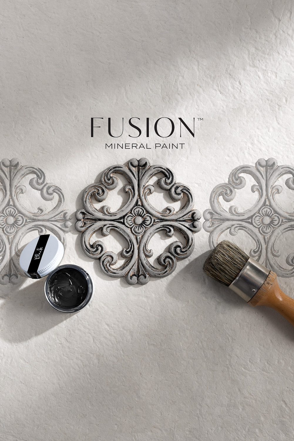 Black Furniture Wax by Fusion Mineral Paint - available online at My Painted Door