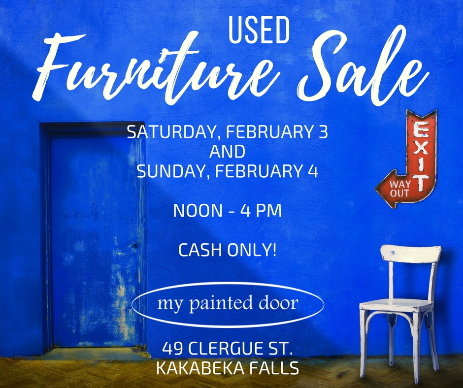 Used furniture sale at My Painted Door
