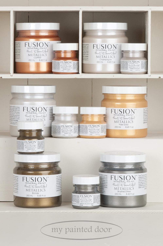 Fusion Mineral Paint Metallics
