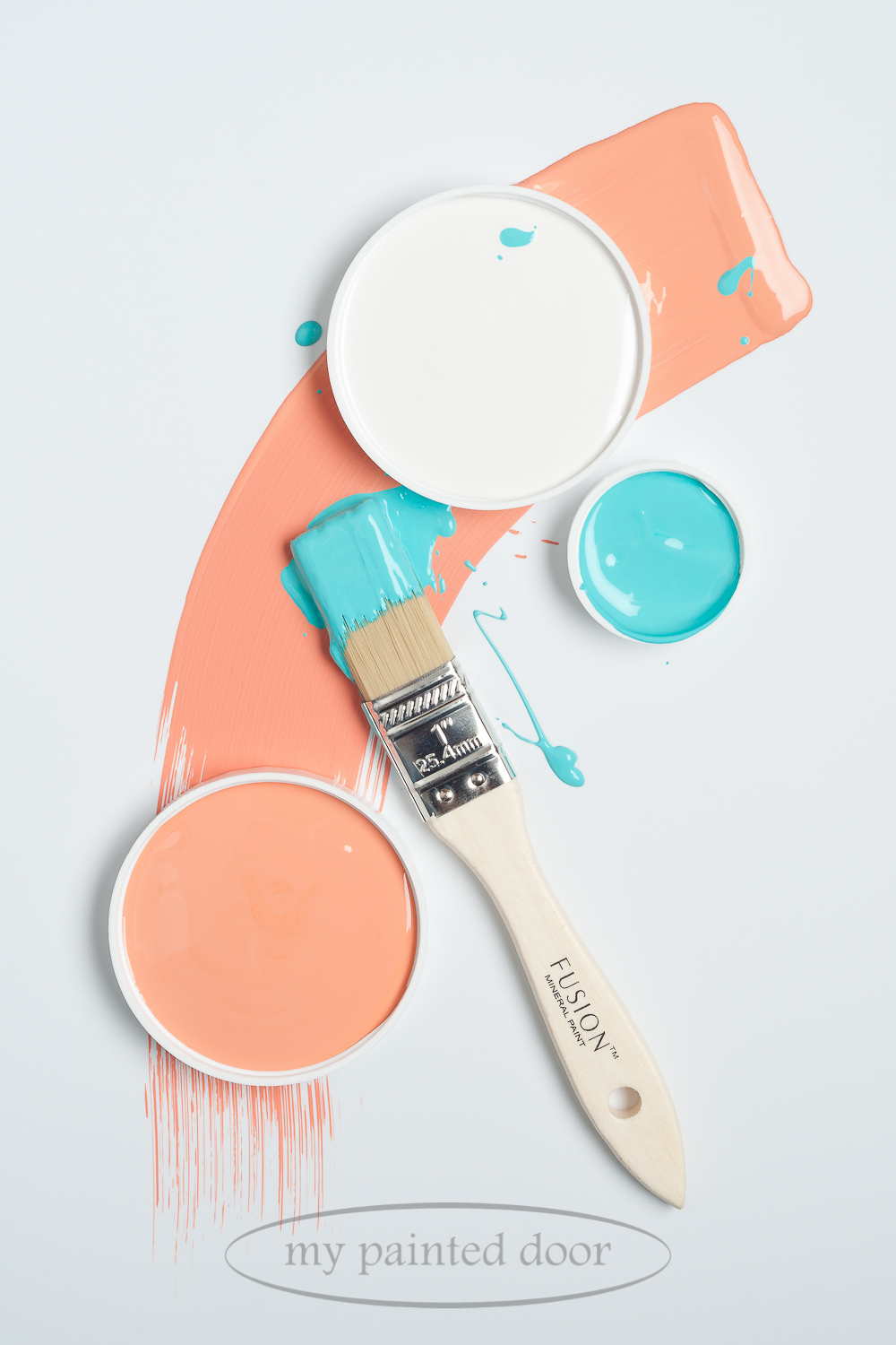 Fusion Mineral Paint Coral and Azure