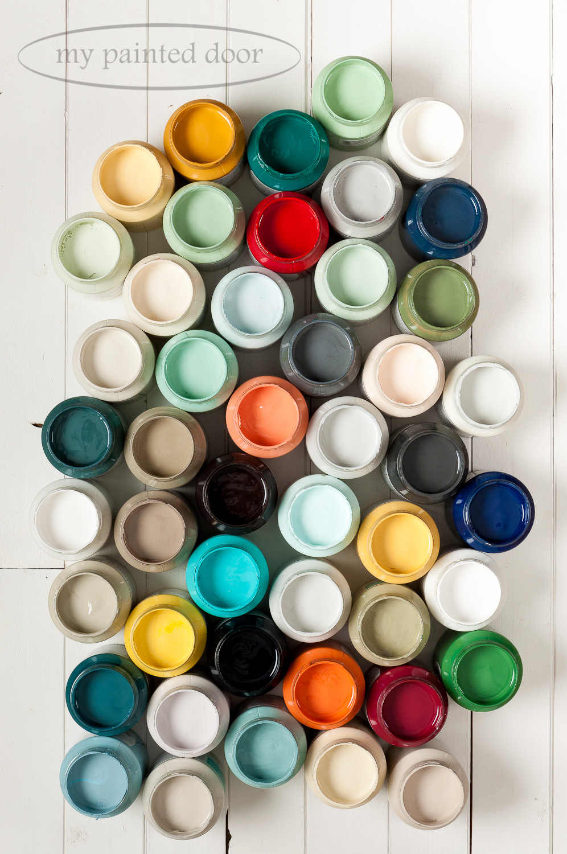 Fusion Mineral Paint Colours