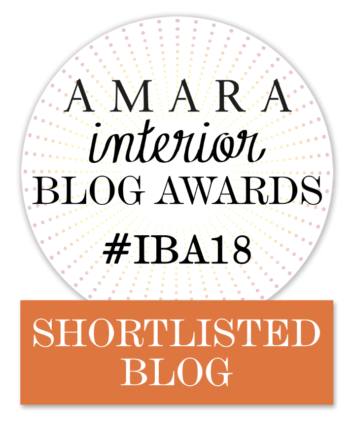 Amara Interior Blog Awards Nominated Blogger