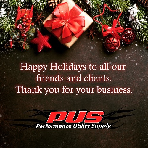 The PUS family would like to you and yours a Merry Christmas and a Happy New Year. #happyholidays #happyholidays2018 #merrychristmas #happynewyear2019