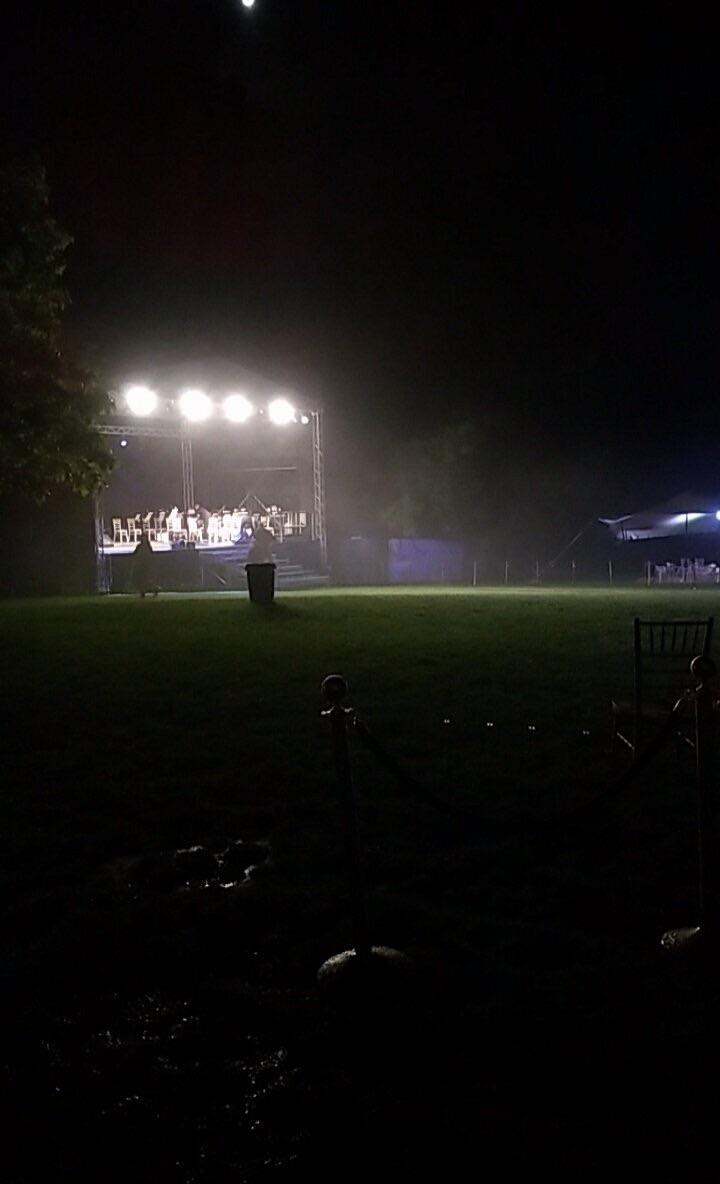 2nd Perf. OMG! The rain!!