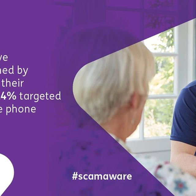 """- """"This is in the third week of Scams Awareness Month, being run by the Citizens Advice Network, Age Scotland and Police Scotland. This campaign is for everyone, but this week we are focusing our message particularly on people over 70.  #scamaware #scamawarenessmonth"""