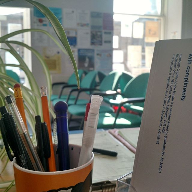 We're in need of #volunteer #receptionist.  Could you spare #monday #mornings to help out at our Dundas Street bureau?  #edinburgh  https://www.citizensadviceedinburgh.org.uk/blog/2018/9/5/volunteer-receptionist-required-dundas-street-bureau