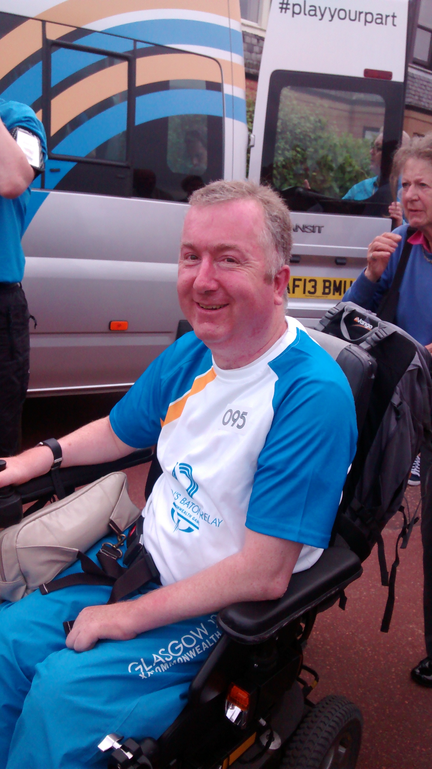 1969-2017 - Ian was born in Edinburgh on 13 August 1969 and at the age of 7 was diagnosed with Ataxia-Telangiectasia, a life limiting condition caused by an extremely rare gene mutation. At that time the life expectancy of an individual with this condition was considered to be early 20s.Ian was determined to live his life to the fullest. As well as his tireless work with Citizens Advice he campaigned for better rights for those with physical disabilities, volunteered at a range of other organisations, completed the bronze, silver and gold Duke of Edinburgh award, and carried the Queen's baton for the 2014 Glasgow Commonwealth Games.