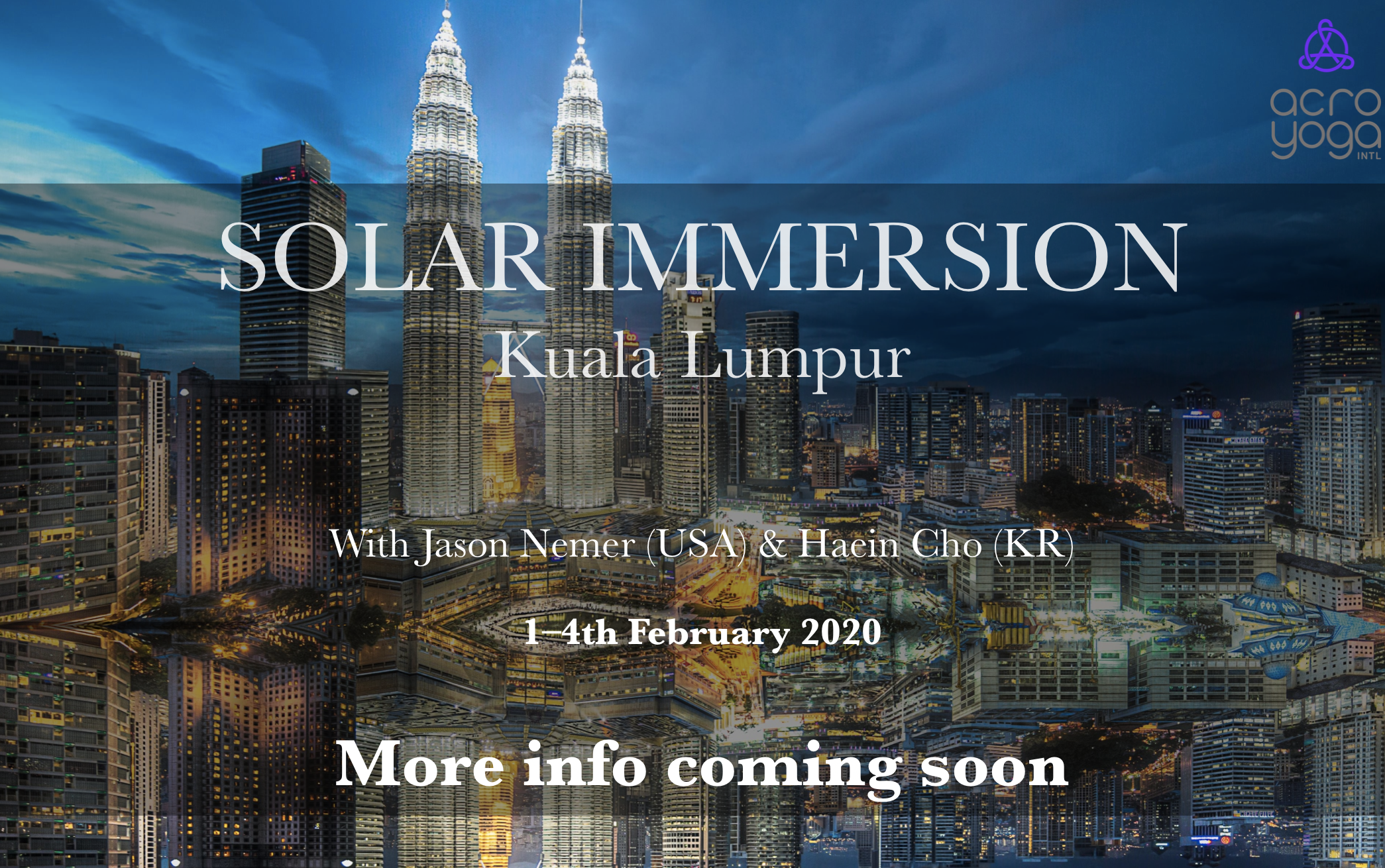 ASIA Acroyoga Solar Immersion 1-4th Feb