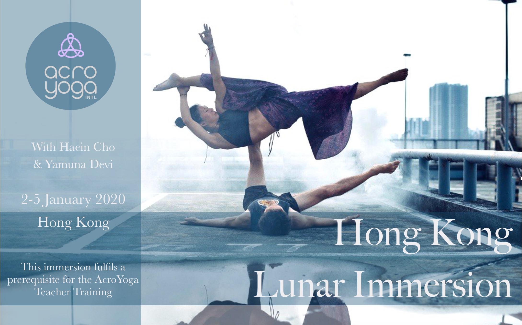 HongKong Acroyoga Lunar Immersion 2-5th Jan